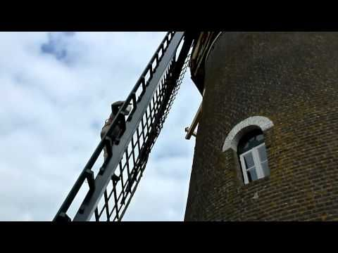 Restauratie Molen De Visscher Goirle - YouTube