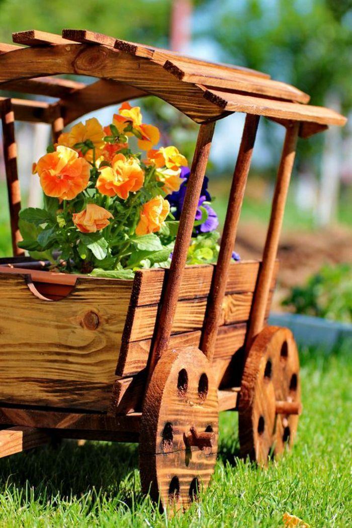 1001 id es pour d corer son jardin des accessoires - Fabriquer son salon de jardin en bois ...