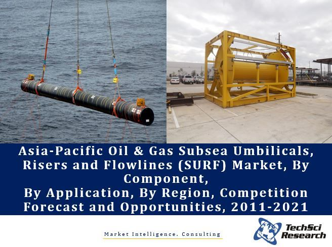 Asia-Pacific Oil & Gas Subsea Umbilicals, Risers and Flowlines (SURF) Market By Component (Shallow Water, Deepwater, Ultra-Deepwater), By Application (Deepwater, Shallow Water, etc.), Competition Forecast and Opportunities, 2011-2021