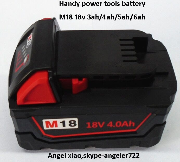 M18 electric power tools battery 18v lithium battery for handheld device