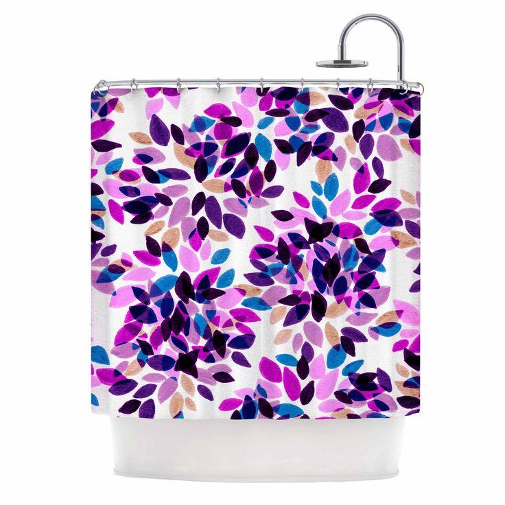 The 25+ best Purple shower curtains ideas on Pinterest   Purple ...