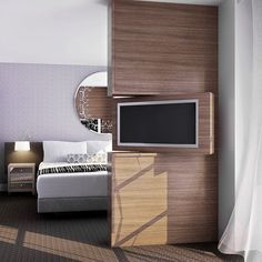 AVIA Hotel guest room rendering designed by McCARTAN  http://www.womenswatchhouse.com/