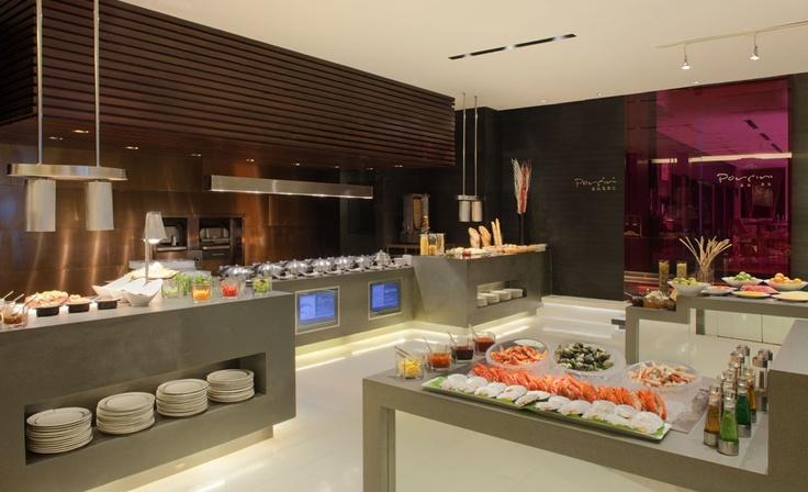 Radisson Blu Hotel Pudong Century Park, Shanghai - Open Kitchen