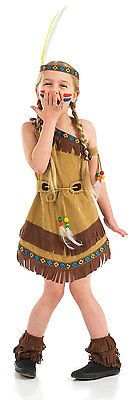 #Girls red indian tiger lily #peter pan fancy dress up #costume outfit 4-6-8-10-1,  View more on the LINK: 	http://www.zeppy.io/product/gb/2/171136849513/