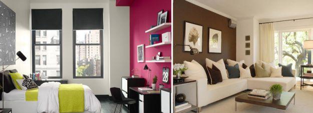 La scelta dei colori di mobili e pareti