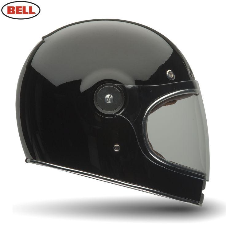 Bell Bullitt Tt Motorcycle Helmet - Bullitt Solid Black - 2014 Bell Road Helmets - 2014 Bell Moto & Road Helmets - 2014
