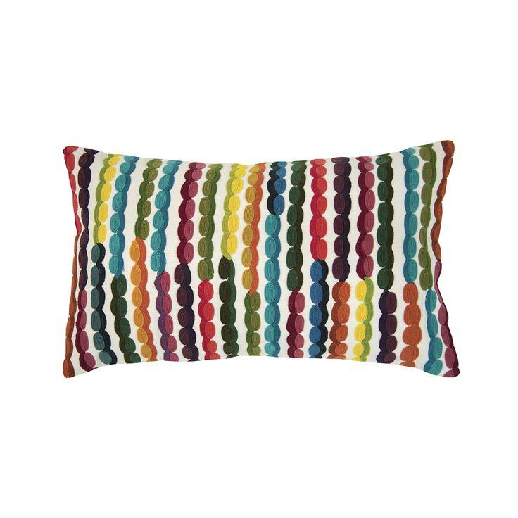 Discover the Vivaraise Pablo Cushion - 30x50cm - Multicoloured at Amara