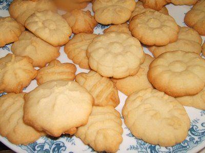 Receta de galletas de pasta seca