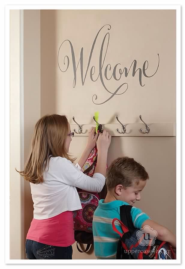 Welcome!!! Lots of different welcome expressions to choose from. Take a look at my website Http://ericah.uppercaseliving.net