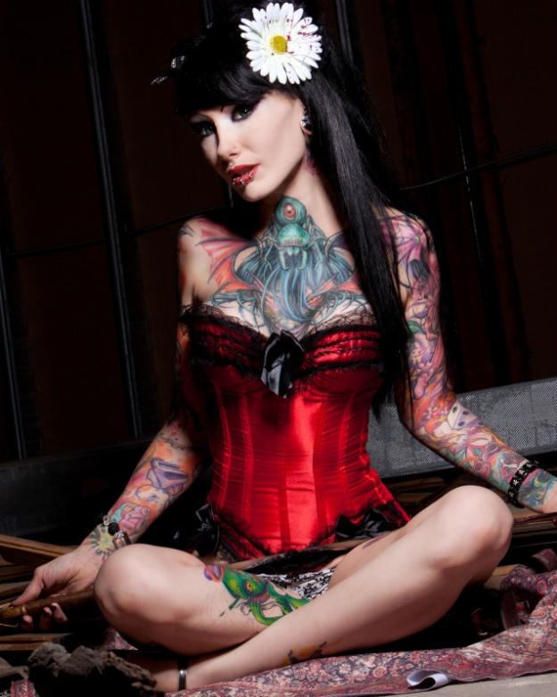 Alt Tattoo Model - Jess Cherry | Do You Love The Ink & Think She's Beautiful?