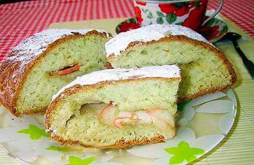 Творожный пирог с яблоками http://mysadzagotovki.ru/tvorozhnyj-pirog-s-yablokami/  Вкусный и не сложный в приготовлении яблочный пирог из творожного теста, понравится и взрослым и детям. На все приготовление уходит всего около часа времени, а сама выпечка получается воздушная и ароматная. К чаю то что надо. Состав:творог 170 гр, 2-3 свежих яблока (в зависимости от размера), масло сливочное 70 гр, яйцо 2 шт, сахар 2/3 […]