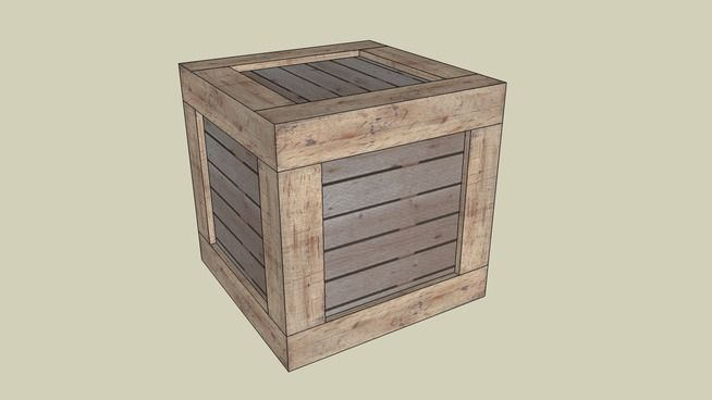 Large preview of 3D Model of Castle Ward: Crate