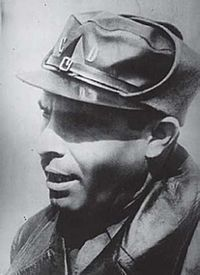 Buenaventura Durruti, a hero of the Spanish Civil War who faught against the Fascist Douchebag Francisco Franco and his minions.