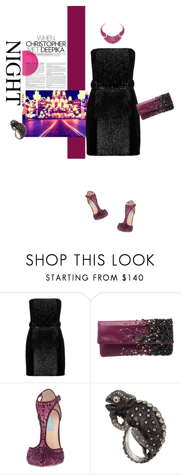 """""""Portami a ballare"""" by piccolauby ❤ liked on Polyvore featuring Justin Bieber, Balmain, Jimmy Choo, Betsey Johnson and Manya & Roumen"""