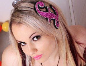 Fascinator by Janine Basil http://folksy.com/items/2770202-Pound-Sign-Fascinator-in-pink-glitter
