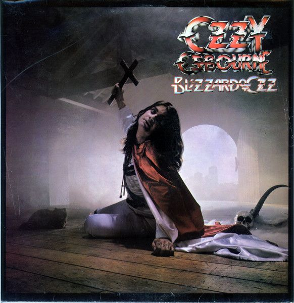 Ozzy Osbourne/Blizzard Of Ozz/(Jet Records, 1980) Photo by Fin Costello