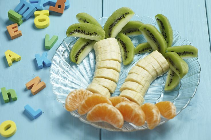 Make breakfast #healthy & fun. Use fruit to make fun shapes!