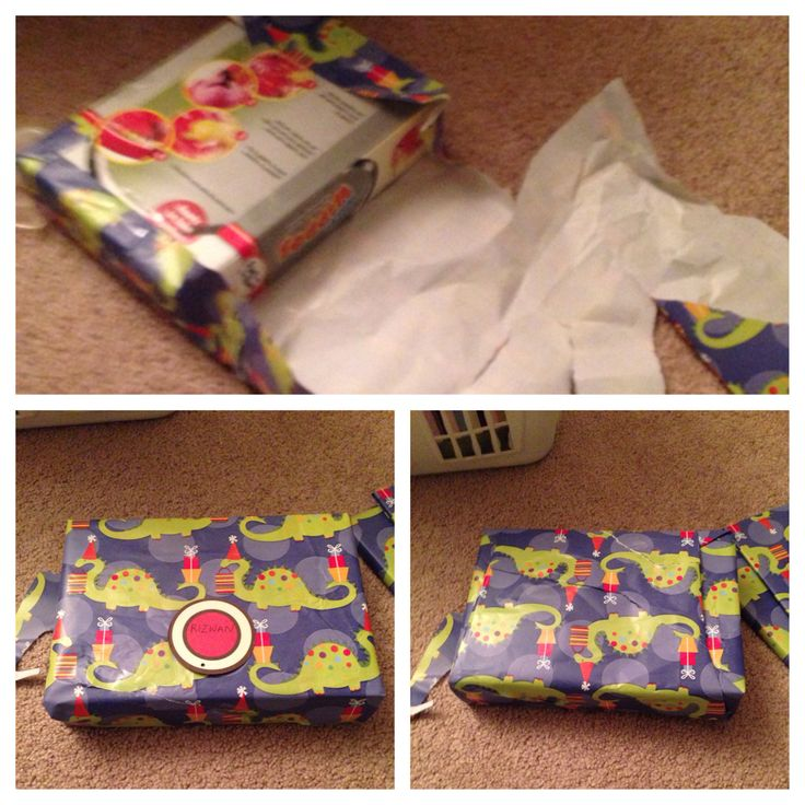 My nephew found the Eid gifts. Re-wrapping with the same paper makes for a Franken-gift, but the little kids don't care. I pick one fun design for Eid gift wrapping each time and buy rolls from the dollar tree. Usually, I can get away with 2-3 rolls, the cost of one roll in any other store.