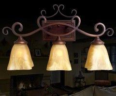 Юго-Восточной Азии длинного переднего зеркала лампы американский сельской местности 3 головы настенный светильник в европейском стиле большой стены бра гостиная кованого железа старинные настенные бра 967
