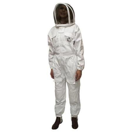 Harvest Lane Honey CLOTHSM-101 Honey Beekeeping Suit, Medium