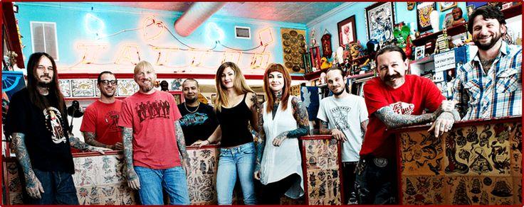Elm Street Tattoo - Dallas, Texas - Oliver Peck