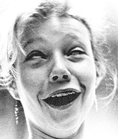 Gwyneth Paltrow with braces.