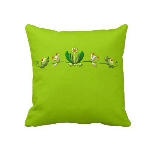 Folk Throw Pillows