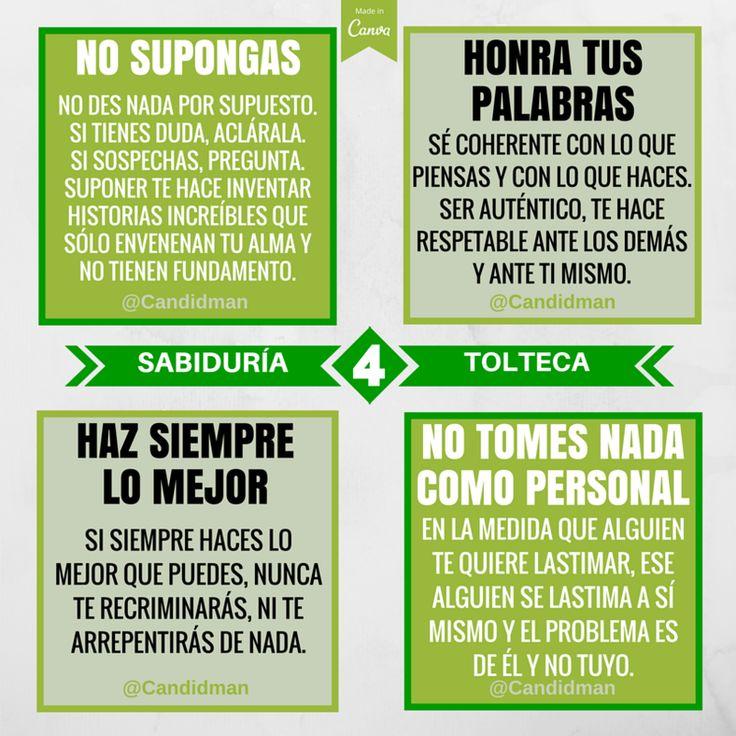 20151130 Los 4 Acuerdos de la Sabiduría Tolteca - @Candidman