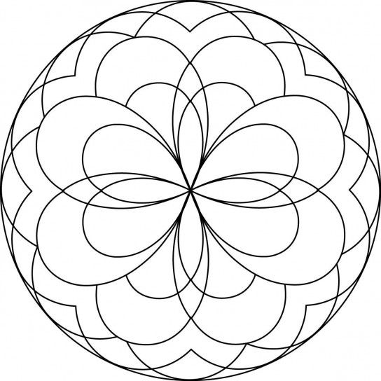 60 best Mandala images on Pinterest | Coloring pages, Mandalas for ...