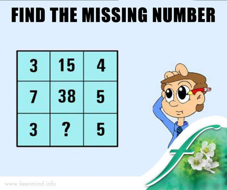 Time to challenge your brain. Can you find the missing number? #Brainteaser #Flordis #KeenMind