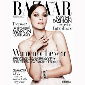 Marion Cotillard is Bazaar's December cover star