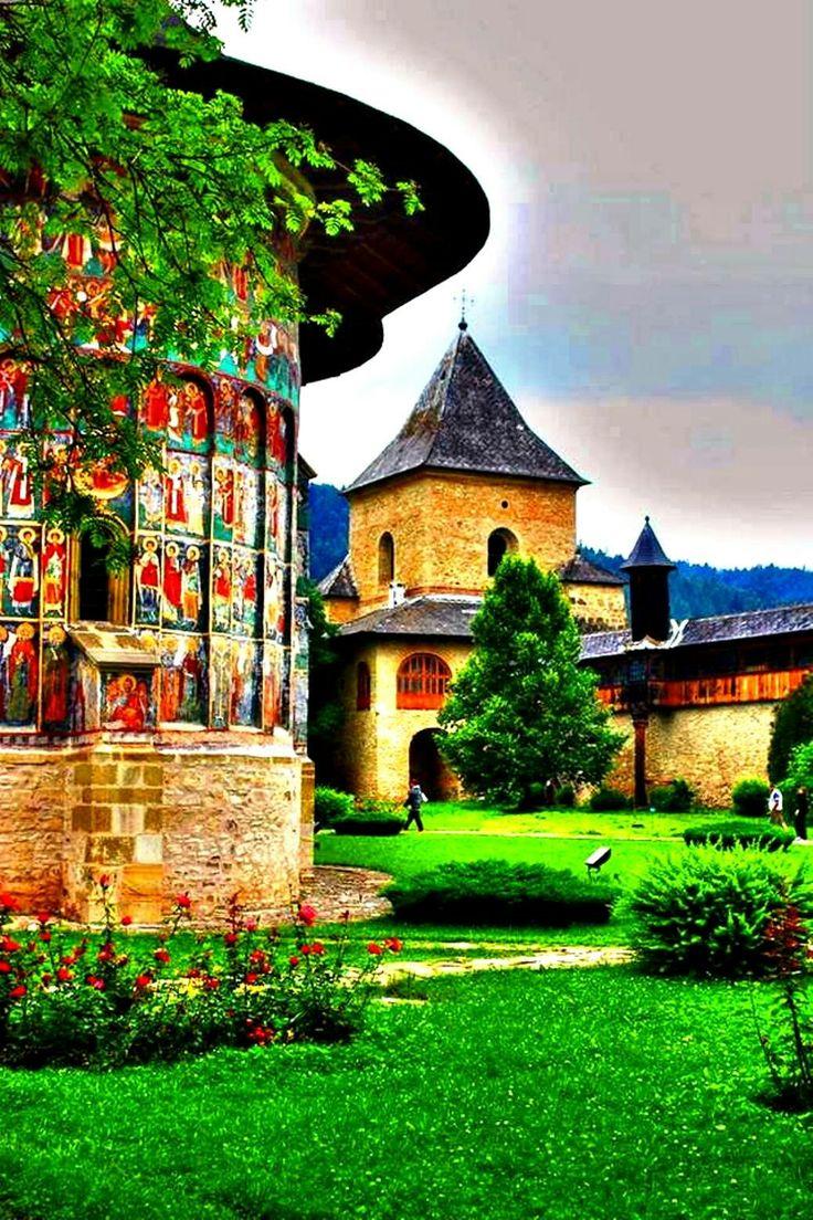 Mănăstirea Sucevița.
