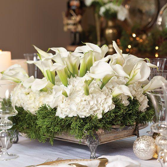 Best christmas floral arrangements ideas on pinterest