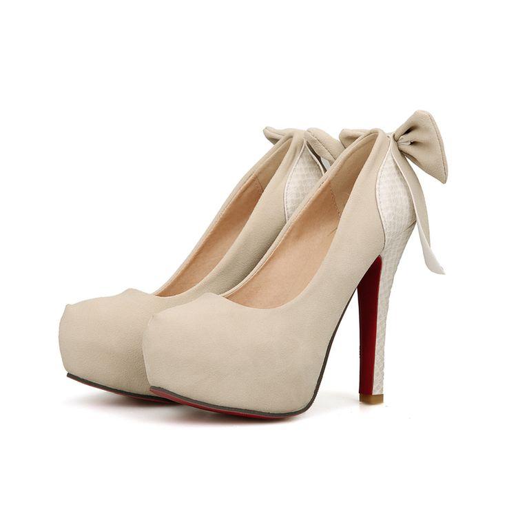 ШКАФ Марка Новая Мода Черный Белый Абрикос Супер Высокие Каблуки Женщины Насосы платформы Женская Обувь AB12 Плюс Большой Размер 10 33 43
