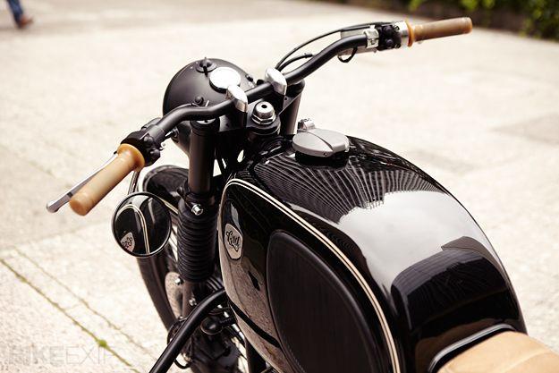 motorcycle cafe racer handlebars | sugakiya motor