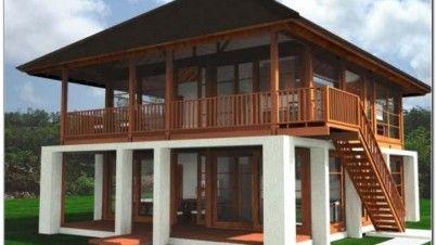 desain rumah kayu minimalis modern 2 lantai desain rumah