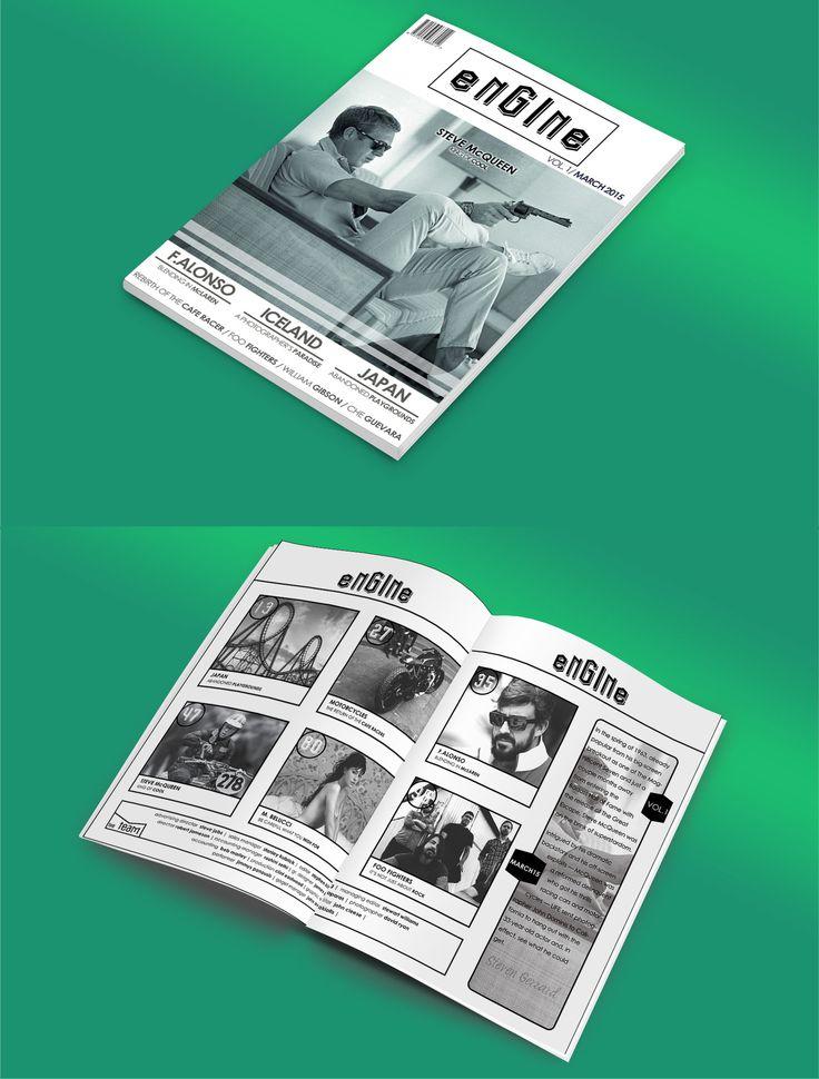 / Magazine cover & editorial. //  / Εξώφυλλο και editorial περιοδικού. //