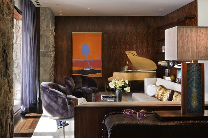 My favorite room in Jennifer Anistons house shown in Architectual Digest