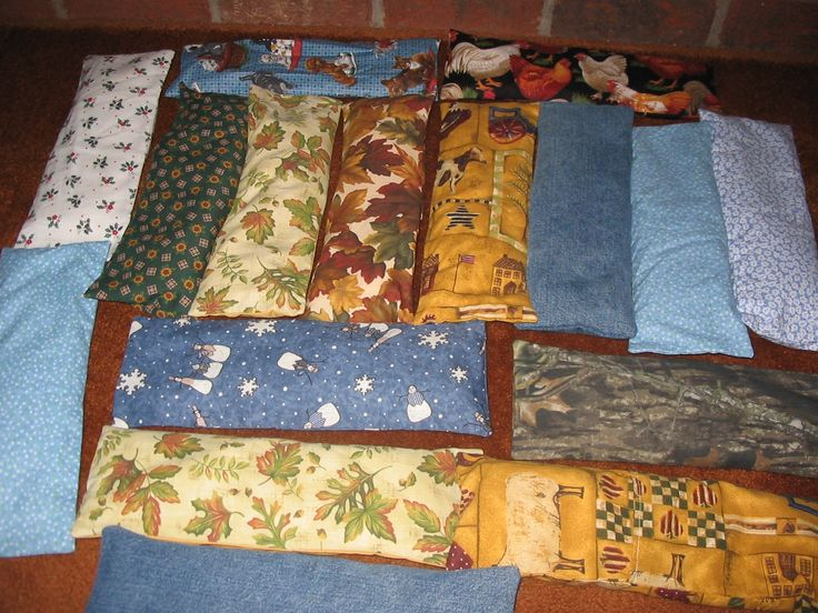 home made heat pads hints and ideas for different fillers