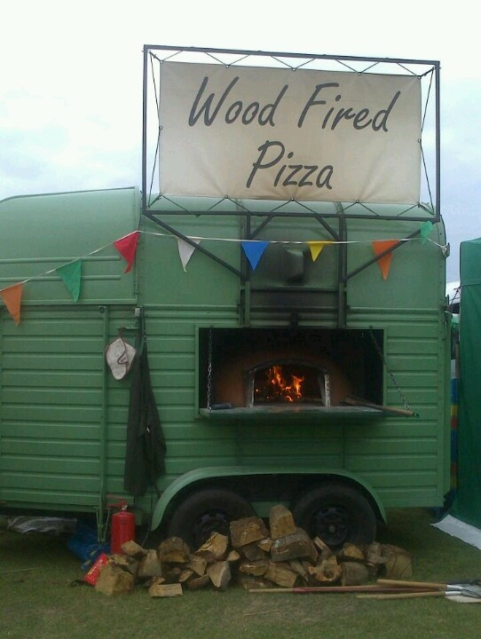 Horse Box Pizza- best pizza's outside Italy!