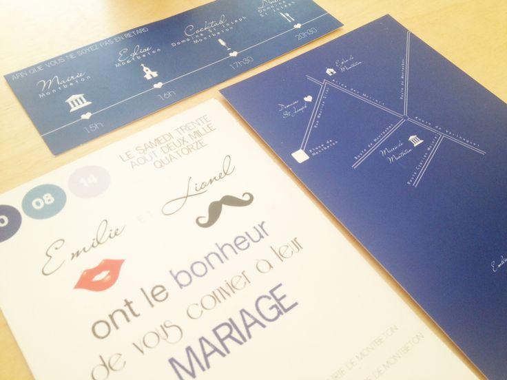 faire part mariage var