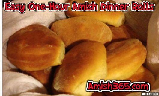 5 Amish Dinner Roll Recipes