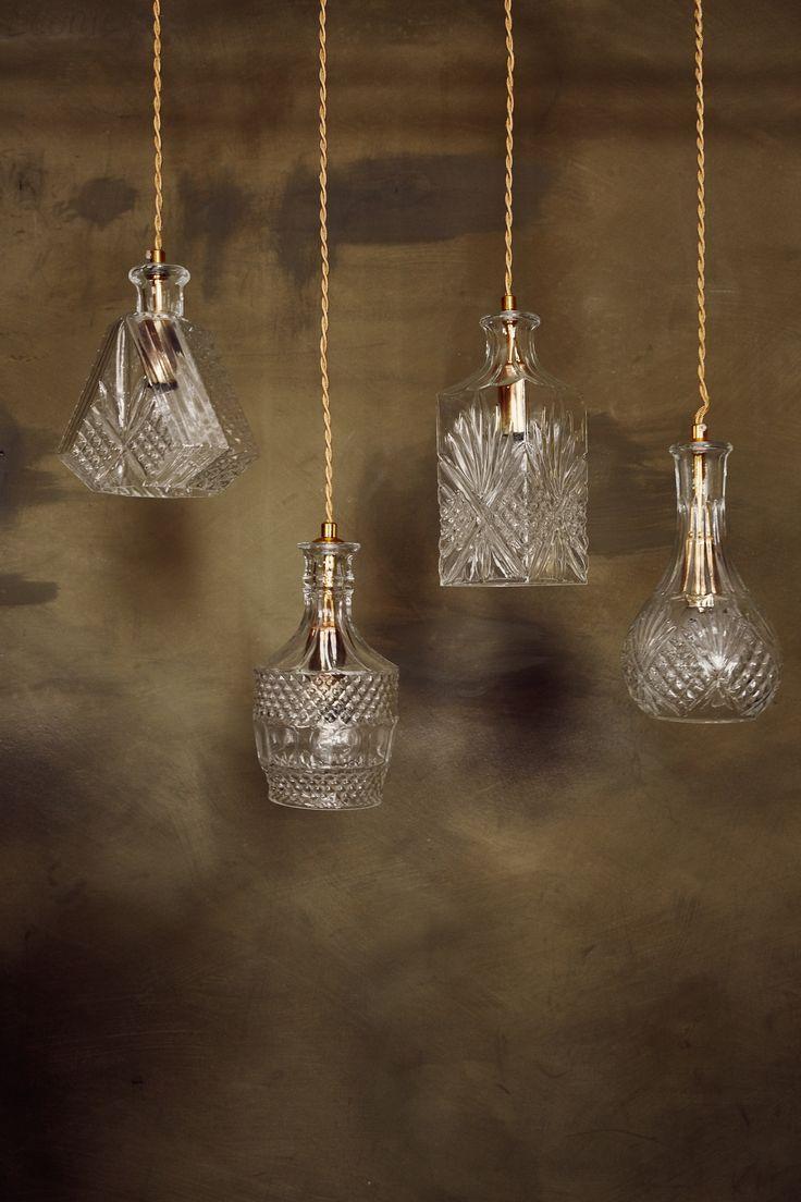 #WestwingNL. Glazen lampen. Voor meer inspiratie: westwing.me/shopthelook