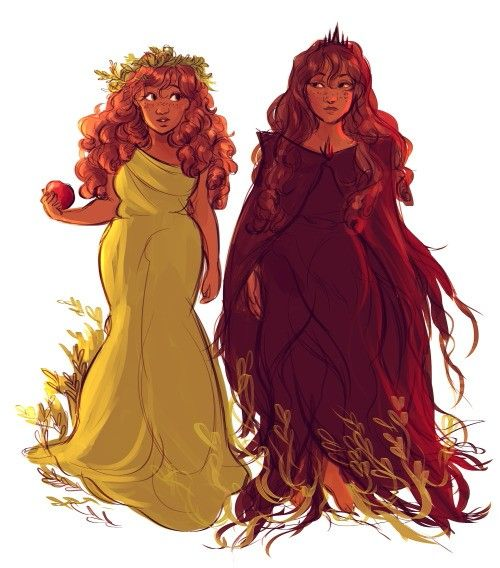 Persephone and hades percy jackson