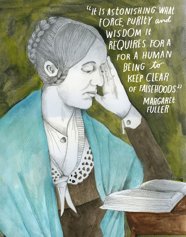 Journalist, critic, and womens rights pioneer Margaret Fuller (May 23, 1810July 19, 1850) is celebrated not only as the first full-time female book reviewer in America, but also as the author of the very first work of feminist literature in the United States.