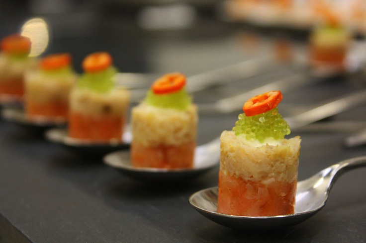 1000 images about canape on pinterest polenta cakes for Canape garnishes