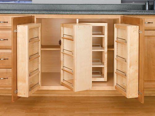 1000+ images about kitchen remodel - cabinets/fridge on Pinterest ...