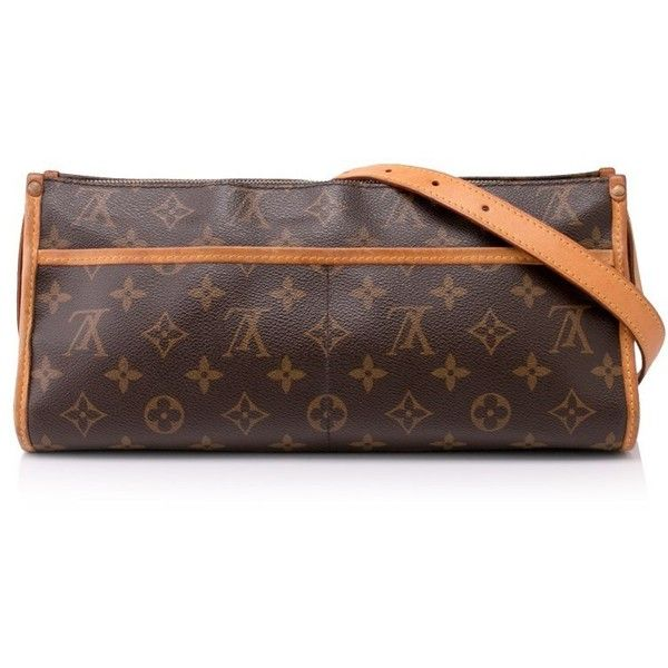 Pre-owned Louis Vuitton Popincourt Crossbody Bag (690 AUD) ❤ liked on Polyvore featuring bags, handbags, shoulder bags, brown, brown crossbody purse, brown leather shoulder bag, louis vuitton handbags, louis vuitton crossbody and crossbody handbag