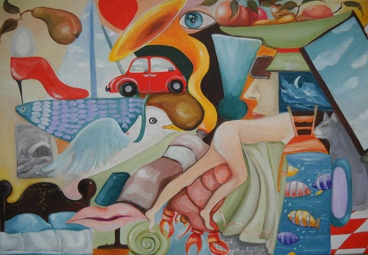 Il Comune di Rivodutri nell'ambito del progetto Rivodutricontemporanea promuove dall'8 aprile al 6 maggio 2017 presso la Sala Consiliare in piazza Municipio, la mostra 'CeraunavoltaunResedutosulSofà', di Lucia Novelli, a cura di Barbara Pavan. L'opera di Lucia Novelli spazia dall'illustrazione delle fiabe, al disegno per la moda, al restauro fino alla pittura ad olio onirica e surreale: