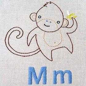 monkey pattern